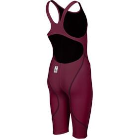 arena Powerskin St 2.0 Short Leg Open Combinaison courte Femme, deep red
